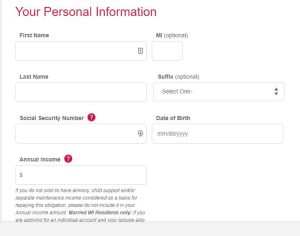 Bon Ton Credit Account Application