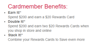 Bon Ton Credit benefits