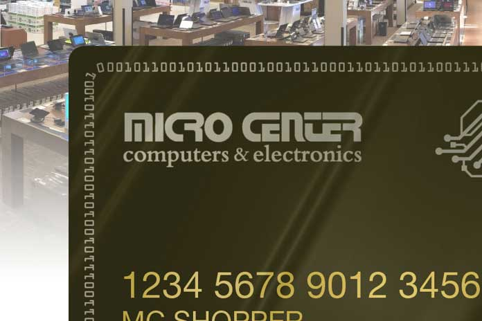 microcenter credit card